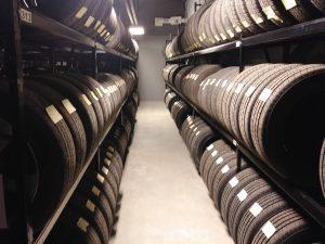 Honda Lévis rangement pour pneus