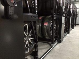 Étagère de rangement pour pneu